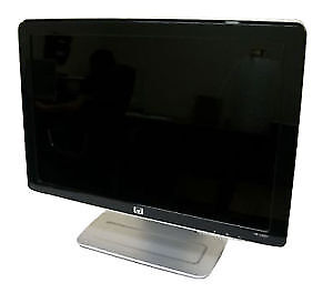 """HP W2007 20.1"""" Widescreen LCD Monitor, built-in Speakers"""