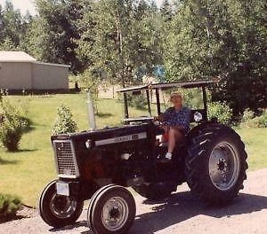 Tracteur antique Cockshutt 540 - 1959