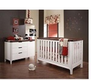 Tulip Piccolo Double Bed Conversion Rail Kit In French White