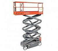 FOR RENT SJ3226 INDOOR SCISSOR LIFT $185