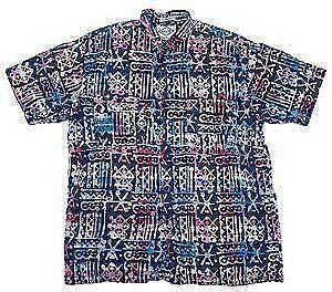 c6377555c22d Men's Batik Shirts · Santiki Blue Green Floral ...