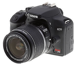 new Canon EOS Rebel XS 10.1MP Digital SLR Camera with starterKit