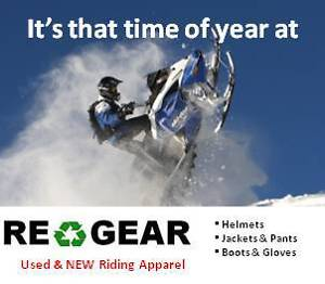 Sled Gear now out on display at RE-GEAR