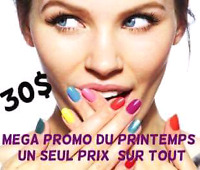 Promo pose d'ongle