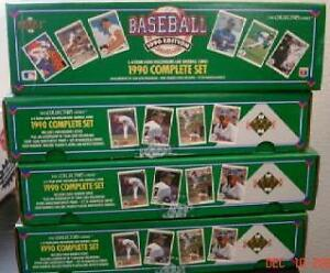 1990 UPPER DECK BASEBALL .... FACTORY SET ... 800 baseball cards