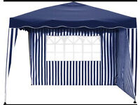 2x2 Blue Pop up gazebo used once - great for parties garden