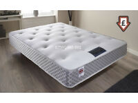 Double, mattress, 12 Inches, kingsize, EXTRA FIRM, BACK PAIN,LUXURY MATTRESS ORTHOPEDIC.