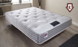 Memory Faom Mattress, King Size, ORTHOPEADIC, Back pain Support , Firm Rating, Springs. Double,