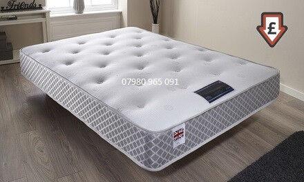 Firm Medium Orthopedic Double King Size Memory Foam Mattress
