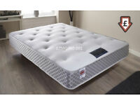 Memory Foam Mattress, Double, King Size, Single, ORTHOPEDIC, For Back Pain Ease, Firm Support,
