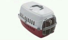 **Reduced for christmas** Small plastic door carrier for cats and dogs