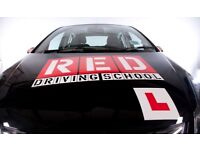 RED Driving School Lessons Croydon, Cousdon, Carshalton, Redhill, Surrey