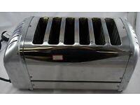 toaster Dualit polished six slice fully working