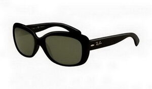 RB4101 Jackie Ohh Ray Ban Sunglasses Shiny Black Frame