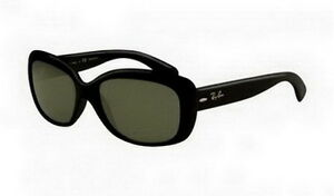 RB4101 Jackie Ohh Ray Ban Sunglasses Shiny Black Frame