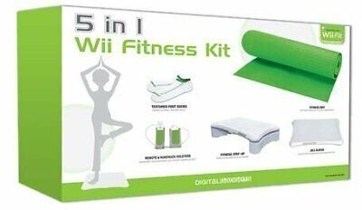 Digital Gadgets 5 in 1 Nintendo Wii Fitness Accessory Kit Exercise Yoga Mat...