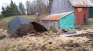 Old structures houses or barns tore down for good price