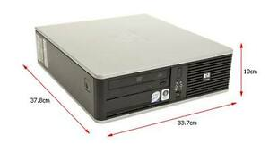 PC Ordinateur HP DC7800 SFF Core 2 Duo E6550 tour table