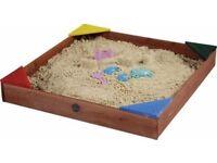 Plum Junior wooden sand pit brand new in box