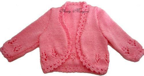5105cf8be Hand Knitted Baby Jackets