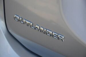 2016 Mitsubishi Outlander ZK MY16 LS 2WD Silver 6 Speed Constant Variable Wagon