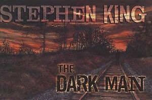 NEW The Dark Man: An Illustrated Poem by Stephen King