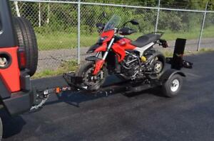 Stinger Folding Motorcycle Trailer. Includes Free Shipping!