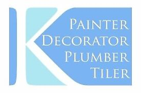Plumber/Tiler/Painter/Decorator/General-Purpose Handyman - Glasgow and Surrounding Areas -Free quote