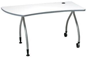 "Samsonite Monarch Left Peninsula Work Tables - 55"" - Brand New in Box - Only $199!"