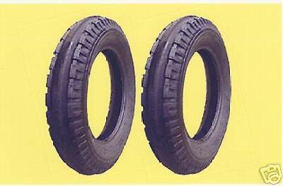 Two New 7.50-18 Antique John Deere Original 3-rib Front Tractor Tires