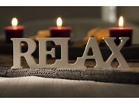 John relaxing massage for male and female 35£ for 1h.