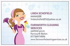 Farnworth cleaning services