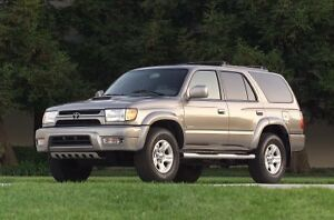 Wanted - 2002 Toyota 4Runner Ltd  - Mint Cond, Low kms only.