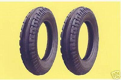 2 New Firestone 5.50-16 Farmall Original Front Tractor Tires Tubes