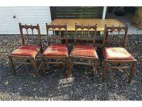 4 x beautiful Ercol chairs