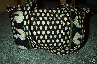 Vera Bradley Retired Rare Chanticleer Classic Handbag