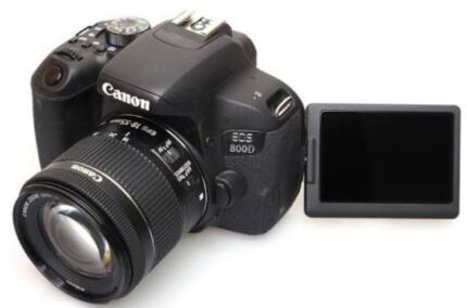 Wanted: Wanting photo and video lessons for Canon 800D  $30ph