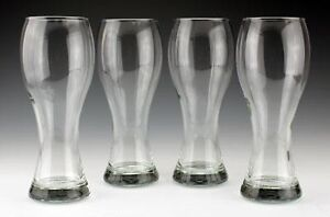 Set of 4 Wheat Beer Glasses