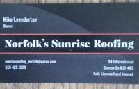 Norfolk's Sunrise Roofing