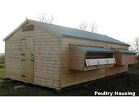 GARDEN BUILDING/CHICKEN SHED/GARDEN SHED/WORKSHOP/BUILDERS OF POULTRY HOUSING