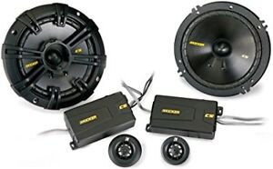 "Kicker CS-Series CSS674 6-3/4"" 6.75"" Component Speaker - Pair"