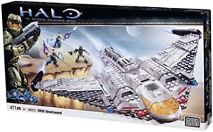 Mega Bloks Halo 10th Anniversary UNSC Shortsword - 96835 (USAGÉ)
