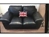 2 X 2 leather sofas ( excellent condition)