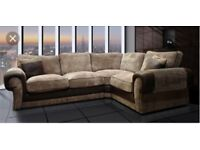 luxurious corner sofa with FREE FOOTSTOOL -##