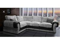 New Scs Ashley corner sofa & FREE FOOTSTOOL ##