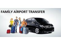 AIRPORT TRANSPORT/CHAUFFEUR SERVICES BIRMINGHAM. 9 SEATER MERCEDES VITO