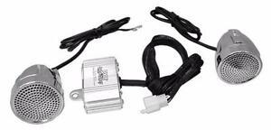 PYLE PLMCA62BT 600 Watt Bluetooth Weatherproof Dual Speaker Sound System for Motorcycle ATV Snowmobile (sale)