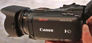 Canon HF G40 top end camera Kangaroo Point Brisbane South East Preview