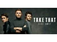 A pair of TAKE THAT standing tickets for Norwich Stadium
