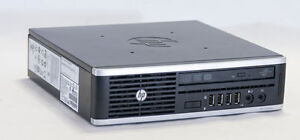 HP DESKTOP COMPUTER 8200 SLIM PC i5 8 GB RAM 500 GB HDD WIN 10